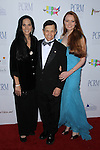MARIANA TOSCA, DENNIS KUCINICH, ELIZABETH KUCINICH. Red Carpet arrivals to The Art of Compassion PCRM 25th Anniversary Gala at The Lot in West Hollywood. West Hollywood, CA, USA. April 10, 2010.