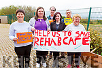 At the day of action, in the Rehab Centre in Blennerville on Friday.<br /> Front l to r: Mary Meade, Tracy Cronin, Pat Hartnett, Michaela Lacey, Tommy Lyons and Ann Lane.