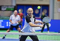 Rotterdam, Netherlands, December 20, 2015,  Topsport Centrum, Lotto NK Tennis, KNLTB rematch.<br /> Photo: Tennisimages/Henk Koster