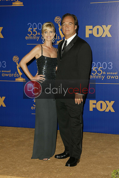 Courtney Thorne-Smith and Jim Belushi
