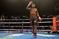 Craig Richards (black shorts) defeats Michael Ludwicak during a Boxing Show at the Copper Box Arena on 27th October 2018