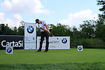 Lloyd Saltman (SCO) tees off on the 6th tee during Day 3 of the BMW Italian Open at Royal Park I Roveri, Turin, Italy, 11th June 2011 (Photo Eoin Clarke/Golffile 2011)