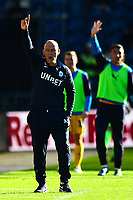 Preston North End manager Alex Neil gestures<br /> <br /> Photographer Richard Martin-Roberts/CameraSport<br /> <br /> The EFL Sky Bet Championship - Preston North End v Wigan Athletic - Saturday 6th October 2018 - Deepdale Stadium - Preston<br /> <br /> World Copyright &not;&copy; 2018 CameraSport. All rights reserved. 43 Linden Ave. Countesthorpe. Leicester. England. LE8 5PG - Tel: +44 (0) 116 277 4147 - admin@camerasport.com - www.camerasport.com