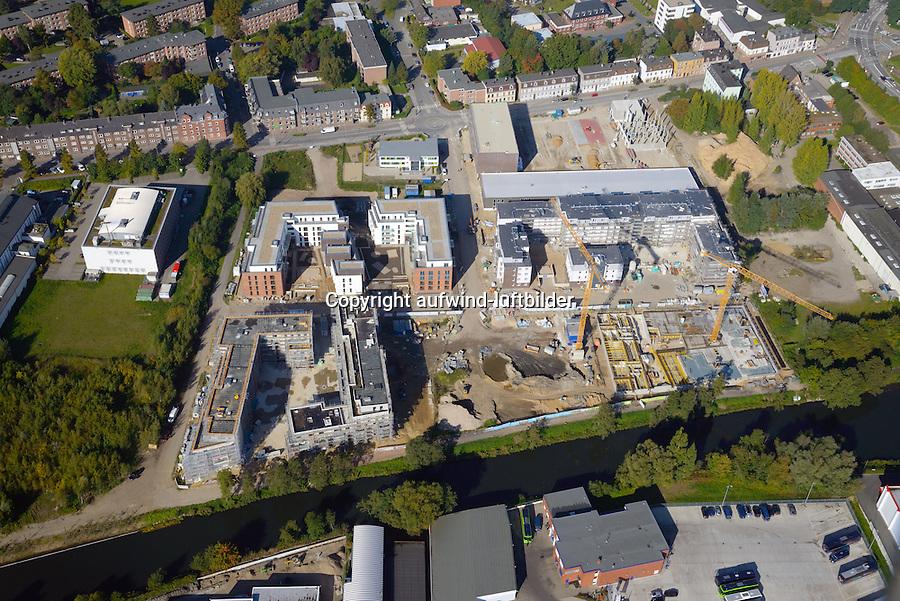 Glasblaeserhoefe: EUROPA, DEUTSCHLAND, HAMBURG, (EUROPE, GERMANY), 03.10.2015: Bergedorf, Glasblaeserhoefe,