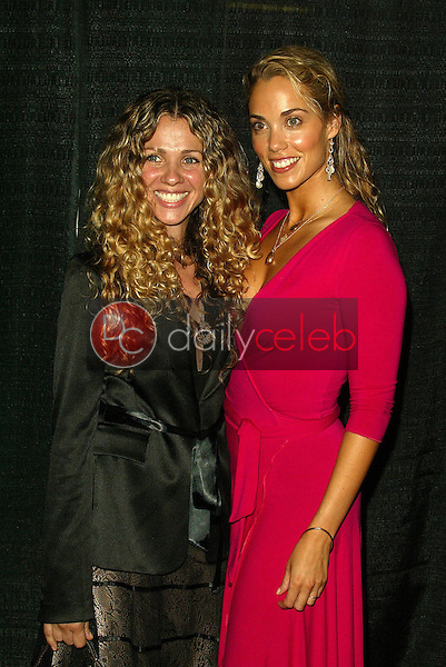 """Seane Corn and Elizabeth Berkley<br /> At the """"Sounds of the Sacred, Songs of the Earth"""" awards gala, The Friars of Beverly Hills, Beverly Hills, CA 09-15-05<br /> Jason Kirk/DailyCeleb.com 818-249-4998"""