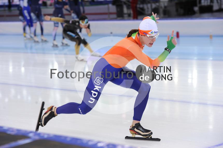 SPEEDSKATING: SOCHI: Adler Arena, 21-03-2013, Training, Marrit Leenstra (NED), © Martin de Jong