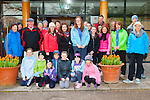 Some of the large crowd of walkers who participated in the Irish Hospice walk at Muckross House on Good Friday