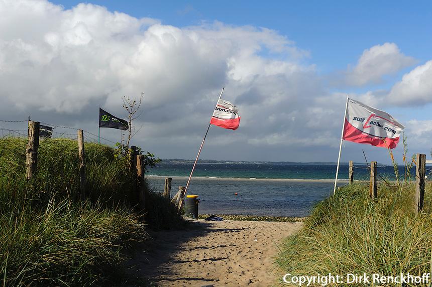 Strand bei Noer, Schleswig-Holstein, Deutschland