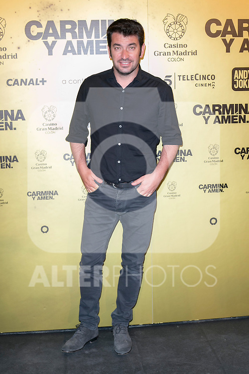 "Arturo Valls attend the Premiere of the movie ""Carmina y Amen"" at the Callao Cinema in Madrid, Spain. April 28, 2014. (ALTERPHOTOS/Carlos Dafonte)"