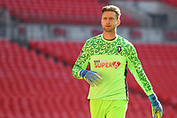 Chris Neal (Salford City) during the Vanarama National League Playoff Final between AFC Fylde & Salford City at Wembley Stadium, London, England on 11 May 2019. Photo by James  Gil.