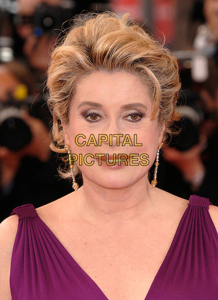 "CATHERINE DENEUVE..arrivals at opening film ""Lemming""..Cannes Film Festival, France..Ref: PL..www.capitalpictures.com..sales@capitalpictures.com..©Capital Pictures.."