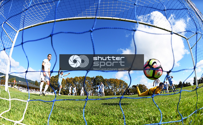NELSON, NEW ZEALAND - APRIL 21: MPL - Nelson Suburbs v Ferrymead Bays. Saxton Field, Nelson, New Zealand. Saturday 21 April 2018. (Photo by Chris Symes/Shuttersport Limited)