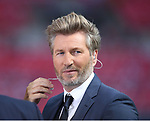 Robbie Savage working as a BT Sports pundit during the Emirates FA Cup Final match at Wembley Stadium, London. Picture date: May 27th, 2017.Picture credit should read: David Klein/Sportimage
