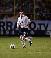 Danny Califf during FIFA World Cup qualifier against El Salvador. USA tied El Salvador 2-2 at Estadio Cuscatlán Stadium in El Salvador on March 28, 2009.