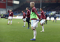 Burnley's Ben Mee during the pre-match warm-up <br /> <br /> Photographer Rich Linley/CameraSport<br /> <br /> The Premier League - Burnley v Everton - Wednesday 26th December 2018 - Turf Moor - Burnley<br /> <br /> World Copyright &copy; 2018 CameraSport. All rights reserved. 43 Linden Ave. Countesthorpe. Leicester. England. LE8 5PG - Tel: +44 (0) 116 277 4147 - admin@camerasport.com - www.camerasport.com