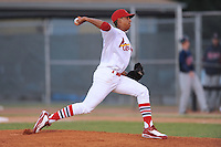 Hector Corpas  during the Appalachian League Championship. Johnson City  won 6-2 at Howard Johnson Field, Johnson City Tennessee. Photo By Tony Farlow/Four Seam Images.