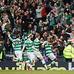 Scott Sinclair celebrates his goal for Celtic