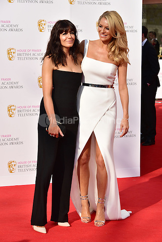 LONDON, ENGLAND - MAY 08: Claudia Winkleman, Tess Daly at he British Academy (BAFTA) Television Awards 2016, Royal Festival Hall, Belvedere Road, London, England, UK, on Sunday 08 May 2016.<br /> CAP/JOR<br /> &copy;JOR/Capital Pictures /MediaPunch ***NORTH AMERICA AND SOUTH AMERICA ONLY***