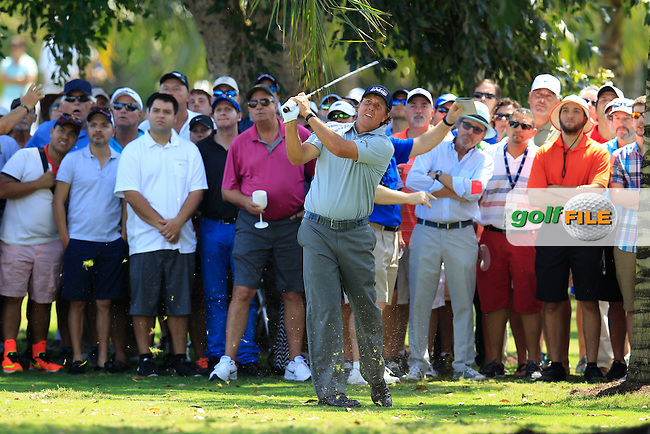 Phil Mickelson (USA) during the 2nd round at the WGC Cadillac Championship, Blue Monster, Trump National Doral, Doral, Florida, USA<br /> Picture: Fran Caffrey / Golffile