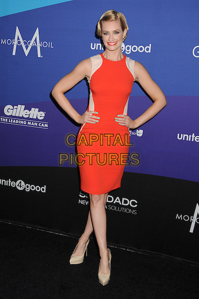 27 February 2014 - Culver City, California - Beth Behrs. Unite4:good and Variety Magazine Present &quot;Unite4:humanity&quot; held at Sony Pictures Studios. <br /> CAP/ADM/BP<br /> &copy;Byron Purvis/AdMedia/Capital Pictures
