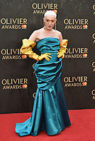 Jamie Campbell<br /> The Olivier Awards 2018 , arrivals at The Royal Albert Hall, London, UK -on April 08, 2018.<br /> CAP/PL<br /> &copy;Phil Loftus/Capital Pictures