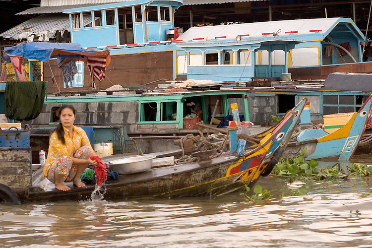 A simple life is exemplified throughout the Mekong Delta in it's watercrafts, homes, and markets.