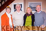 Enjoying the Kerry Drama festival in the Ivy leaf theatre Castleisland on Saturday night werel-r: Joan Griffin, Jerome Stack, Mary Howarth and Kieran Fleming