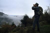 Forestali controllano il territorio. Forestry control the territory...