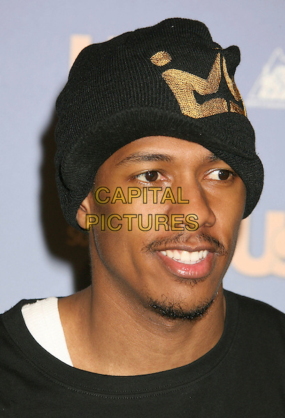 NICK CANNON.US Weekly's Hot Hollywood 2007 held at Opera, Hollywood, California, USA..September 26th, 2007.headshot portrait stubble facial hair black knitted hat beanie baseball cap .CAP/ADM/RE.©Russ Elliot/AdMedia/Capital Pictures.