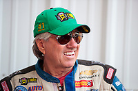 Sep 29, 2019; Madison, IL, USA; NHRA funny car driver John Force during the Midwest Nationals at World Wide Technology Raceway. Mandatory Credit: Mark J. Rebilas-USA TODAY Sports