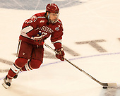 Sean Malone (Harvard - 17) - The University of Minnesota Duluth Bulldogs defeated the Harvard University Crimson 2-1 in their Frozen Four semi-final on April 6, 2017, at the United Center in Chicago, Illinois.