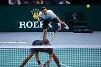 1st November 2019, AccorHotels Arena, Bercy, Paris, France; Rolex Paris Masters tennis tournament;  Austin Krajicek (USA) et Nikola Mektic (CRO)