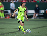 Seattle, WA - Saturday July 23, 2016: Kiersten Dallstream during a regular season National Women's Soccer League (NWSL) match between the Seattle Reign FC and the Orlando Pride at Memorial Stadium.