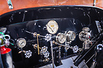 WOODBURY, CT. 16 July 2019-071619 -  The interior of a  1912 Stanley Steamer model 87 at the Hotchkissville Firehouse off route 47 in Woodbury on Tuesday. A large group of owners of Stanley Steamers from around the country have gathered driving around the area touring the Litchfield Hills. Bill Shettle Republican-American
