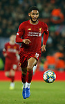 Joe Gomez of Liverpool during the UEFA Champions League match at Anfield, Liverpool. Picture date: 27th November 2019. Picture credit should read: Andrew Yates/Sportimage