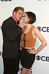 Kenny Johnson and Lina Esco arrive at the CBS Upfront at The Plaza Hotel in New York City on May 17, 2017.