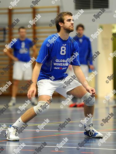 2011-09-19 / Volleybal / seizoen 2011-2012 / Kapellen / Brent De Bleser..Foto: Mpics