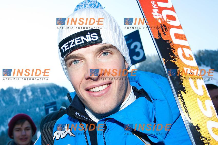 Christoph Innerhofer.26.01.2013, Streif, Kitzbuehel.Sci Coppa del Mondo .Discesa Libera Uomini .Foto EXPA/ Markus Casna / Insidefoto.ITALY ONLY