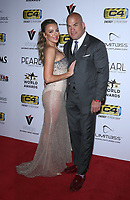 03 July 2019 - Las Vegas, NV - Amber Miller, Tito Ortiz. 11th Annual Fighters Only World MMA Awards Arrivals at Palms Casino Resort. <br /> CAP/ADM/MJT<br /> © MJT/ADM/Capital Pictures