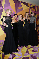 BEVERLY HILLS, CA - JANUARY 7: Nicole Kidman, Zoe Kravitz, Reese Witherspoon, Laura Dern, Shail at the HBO Golden Globes After Party at the Beverly Hilton in Beverly Hills, California on January 7, 2018. <br /> CAP/MPI/FS<br /> &copy;FS/MPI/Capital Pictures