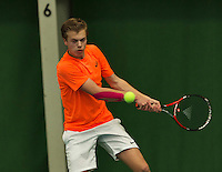 Almere, Netherlands, December 6, 2015, Winter Youth Circuit, Julian Prins (NED)<br /> Photo: Tennisimages/Henk Koster