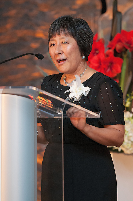 Ottawa, ON &ndash; Nov 27 2015 &ndash; Gary McPherson's wife Valerie McPherson at the Canadian Paralympic Hall of Fame<br /> (Photo: Matthew Murnaghan/Canadian Paralympic Committee)
