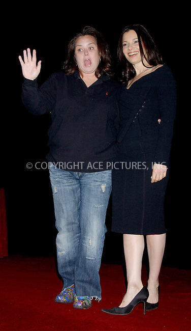 WWW.ACEPIXS.COM . . . . . ....NEW YORK, MAY 9, 2006....Fran Drescher and Rosie O'Donnell at the East End Chapter/Jeanne Kaye League for the City of Hope Cancer Center's 'Woman of the Year Luncheon' held at the Waldorf Astoria Hotel.....Please byline: KRISTIN CALLAHAN - ACEPIXS.COM.. . . . . . ..Ace Pictures, Inc:  ..(212) 243-8787 or (646) 679 0430..e-mail: picturedesk@acepixs.com..web: http://www.acepixs.com