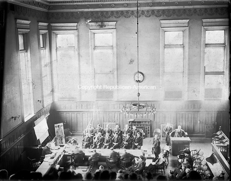 Frederick Stone negative. Kretchman trial. Undated photo.