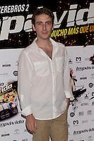 26.07.2012. Premier at Palafox Cinema in Madrid of the movie 'Impavido´, directed by Carlos Theron and starring by Marta Torne, Selu Nieto, Nacho Vidal, Carolina Bona, Julian Villagran and Manolo Solo. In the image Victor Clavijo (Alterphotos/Marta Gonzalez) /NortePhoto.com <br /> <br /> **CREDITO*OBLIGATORIO** *No*Venta*A*Terceros*<br /> *No*Sale*So*third* ***No*Se*Permite*Hacer Archivo***No*Sale*So*third*©Imagenes*con derechos*de*autor©todos*reservados*.