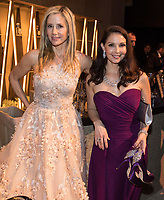 Mira Sorvino and Ashley Judd at the Governors Ball following the live ABC Telecast of The 90th Oscars&reg; at the Dolby&reg; Theatre in Hollywood, CA on Sunday, March 4, 2018.<br /> *Editorial Use Only*<br /> CAP/PLF/AMPAS<br /> Supplied by Capital Pictures