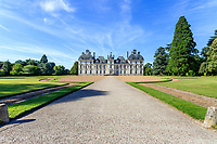 France, Loir-et-Cher (41), Cheverny, château de Cheverny, la façade sud
