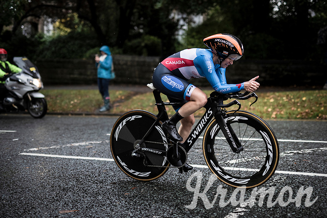 Karol-Ann Canuel (CAN/Boels-Dolmans)<br /> Elite Women Individual Time Trial<br /> <br /> 2019 Road World Championships Yorkshire (GBR)<br /> <br /> ©kramon