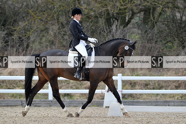 Class 7. British Dressage. Brook Farm training centre. Stapleford abbots. Essex. 10/03/2018. ~ MANDATORY CREDIT Garry Bowden/SIPPA - NO UNAUTHORISED USE - +44 7837 394578