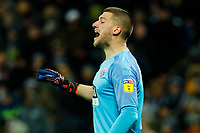 25th February 2020; The Hawthorns, West Bromwich, West Midlands, England; English Championship Football, West Bromwich Albion versus Preston North End; Sam Johnstone of West Bromwich Albion shouts instructions to his team
